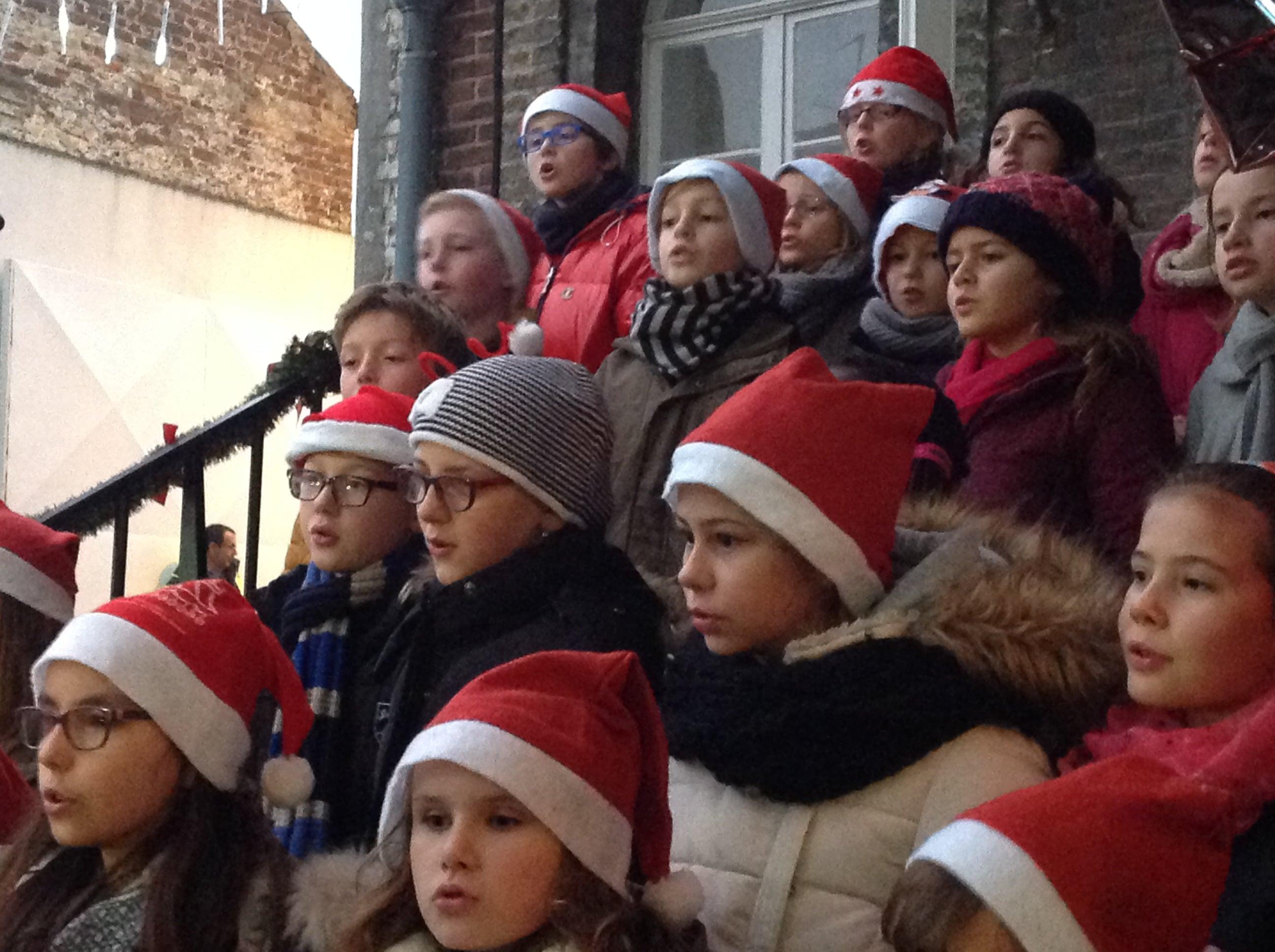 Marché et chants de Noël