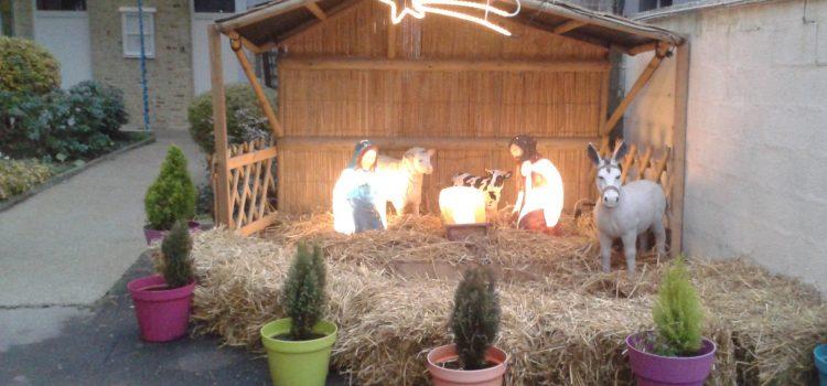 Venez découvrir la merveilleuse crèche de Noël