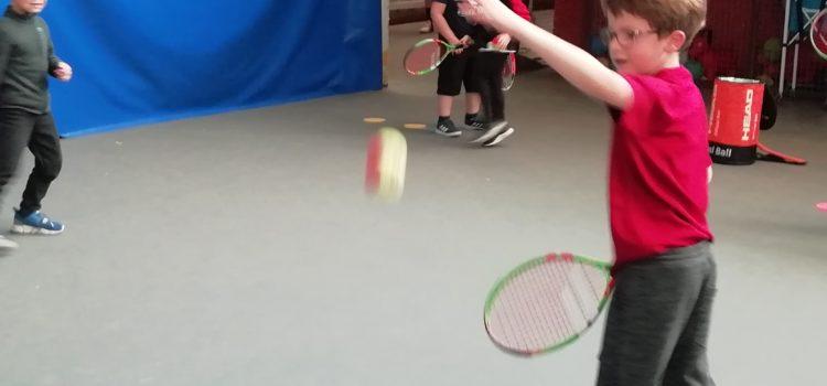 Initiation au tennis pour les CP/ CE1