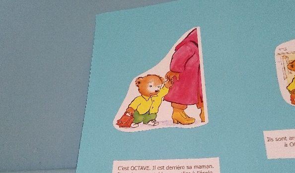 Histoire de l'ours Octave en TPS /PS