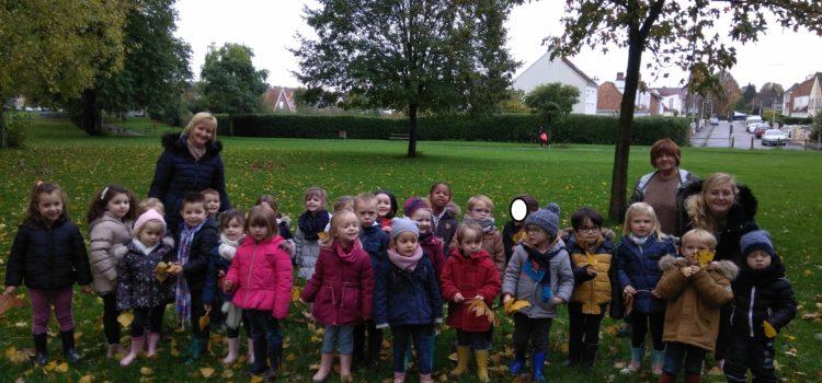 Une découverte sensorielle au jardin public