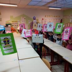 Saint Nicolas dans l'école.